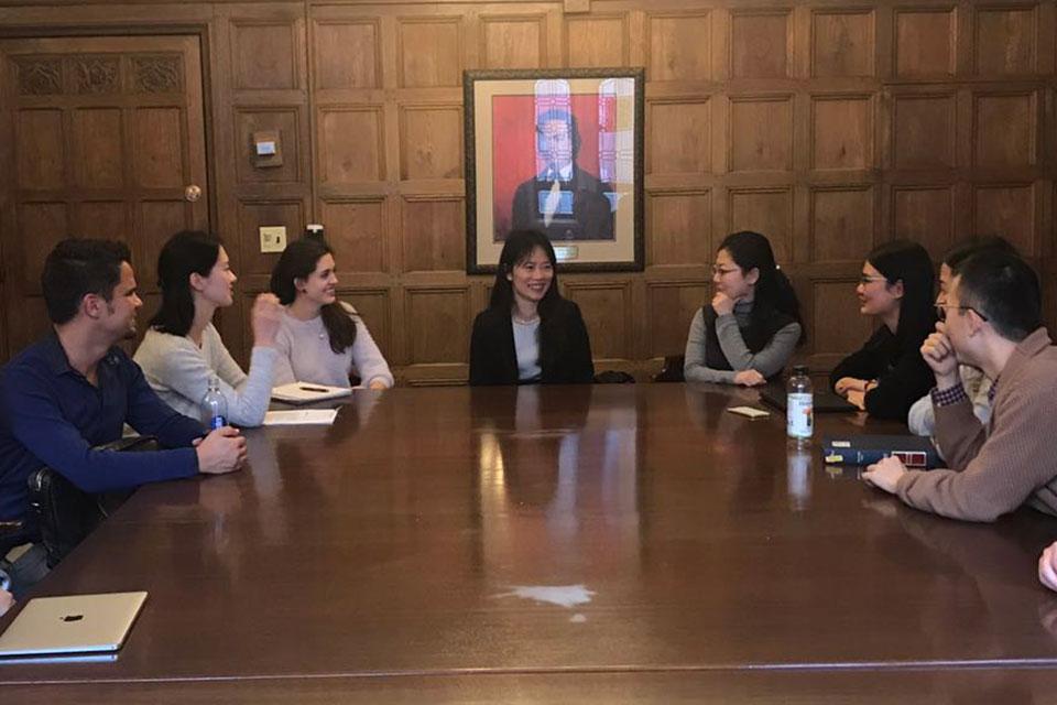 "Prof. Ya-Wen Lei Discusses China's ""Contentious Public Sphere"""