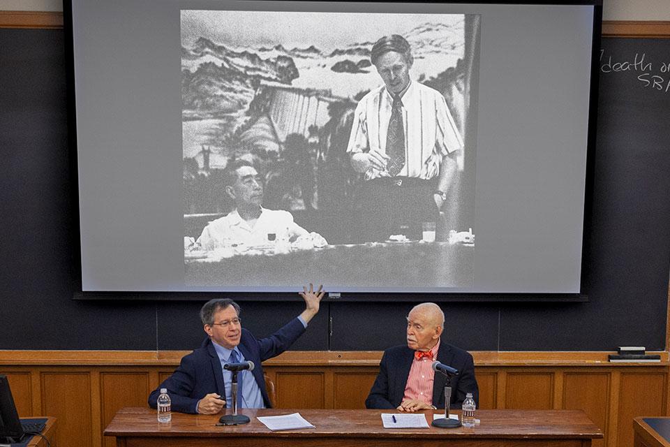 Paul Gewirtz and Jerome Cohen