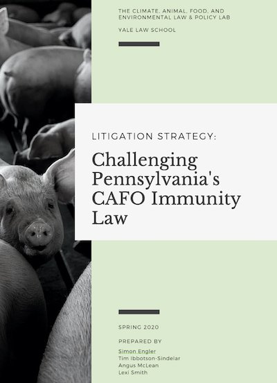 Challenging PA CAFO