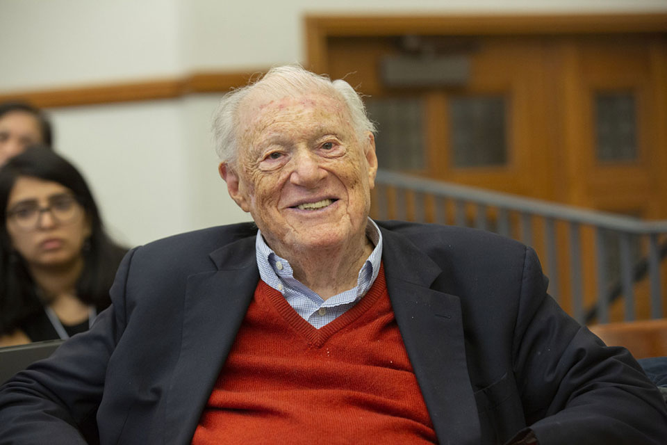 Honoring the Human Rights Contributions of Robert Bernstein (1923–2019)