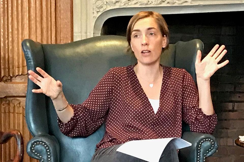 Louisa Lombard Explains the Complexities of U.N. Peacekeeping