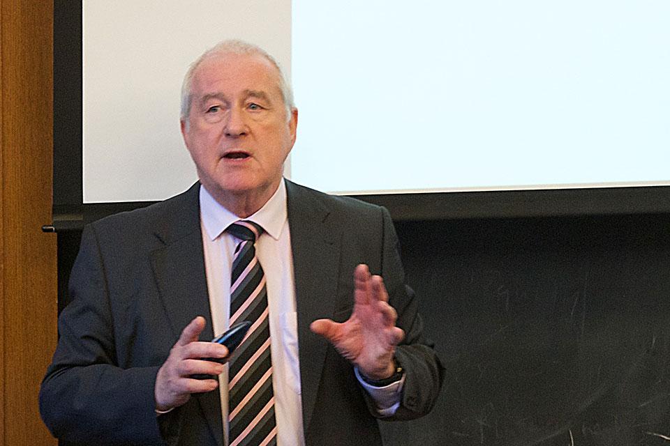 Guy Goodwin-Gill Discusses International Refugee Regime