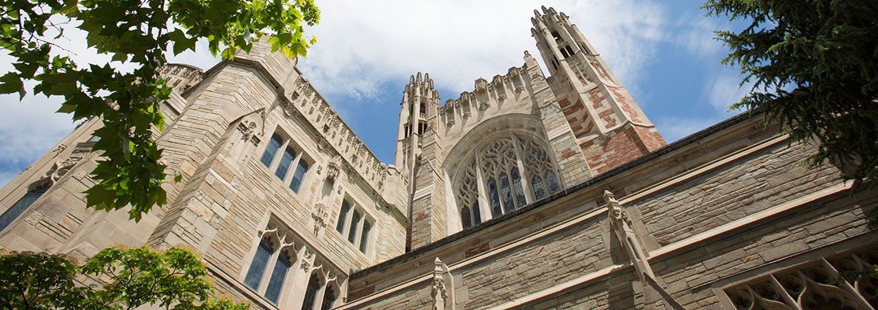 Exterior of Yale Law School