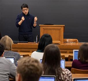 Taisu Zhang teaching