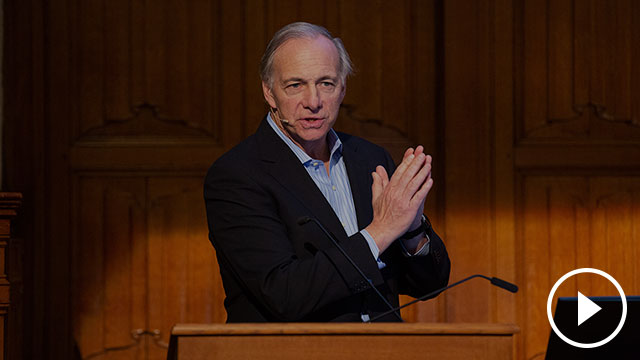 Ray Dalio: Principles for Navigating Big Debt Crises