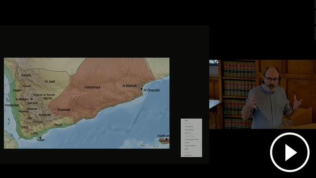 Screen shot from the lecture video