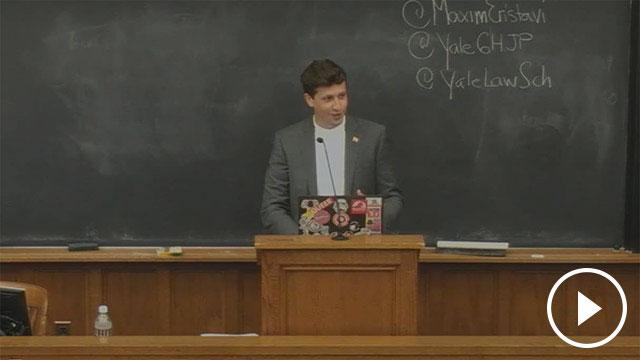Maxim Eristavi: Poynter Lecture in Journalism