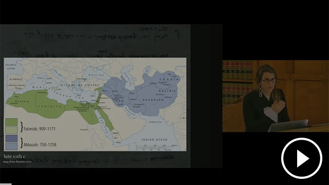 A screenshot from the lecture recording