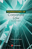 Foundations of Corporate Law, 2d ed.