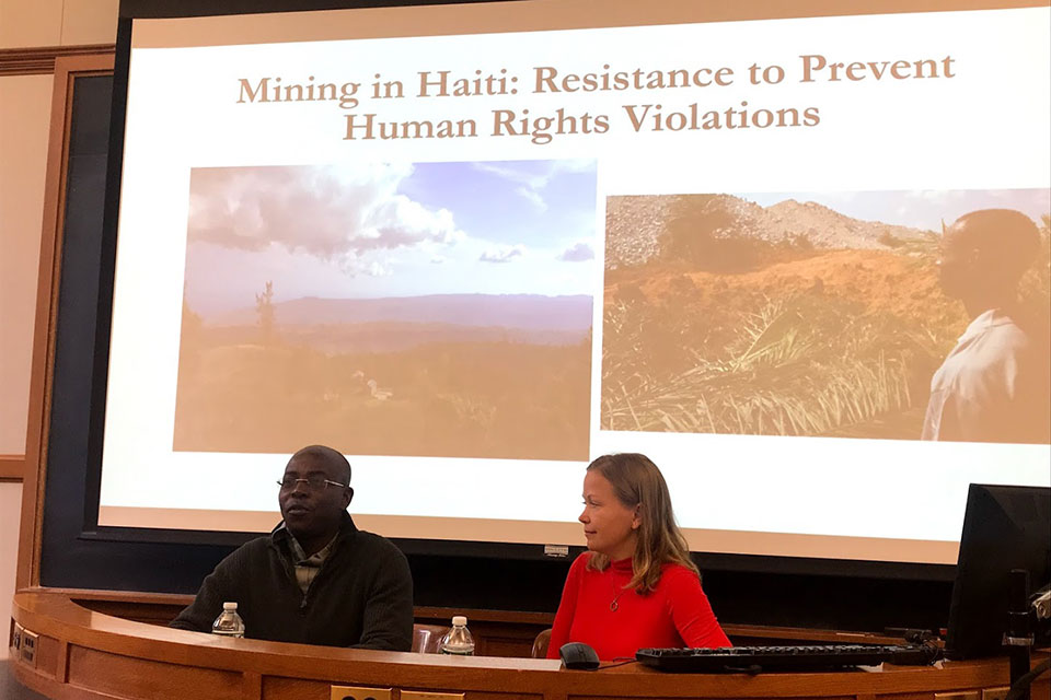 Nixon Boumba and Ellie Happel on Building Solidarity in Haiti