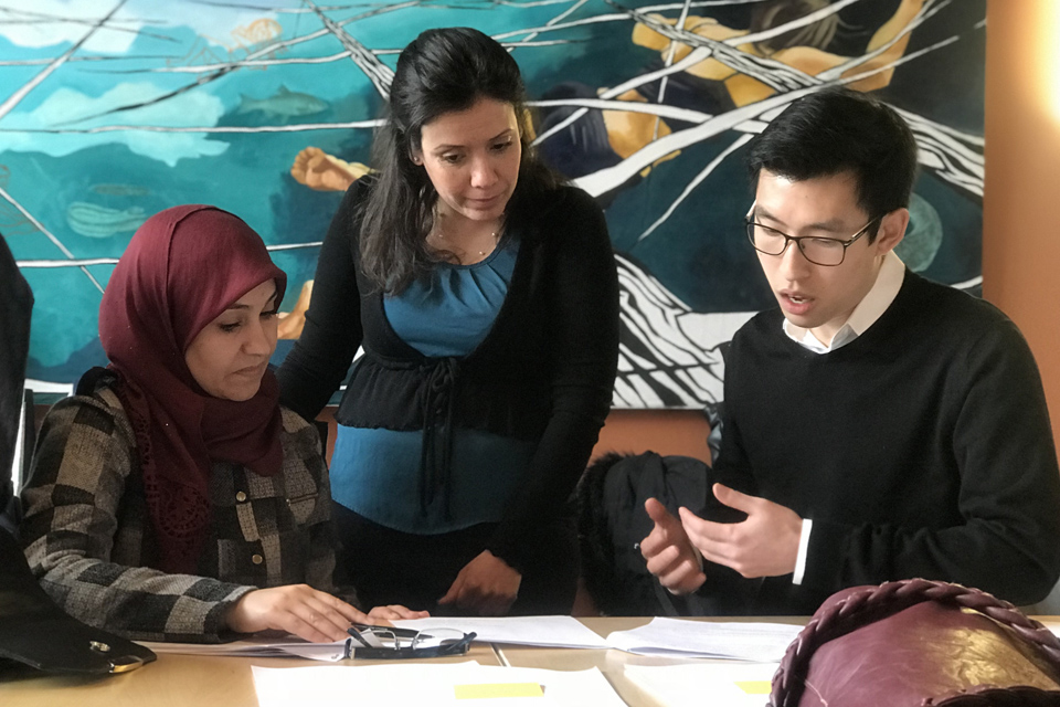 CED Clinic Provides Training for Local Refugee Food Entrepreneurs