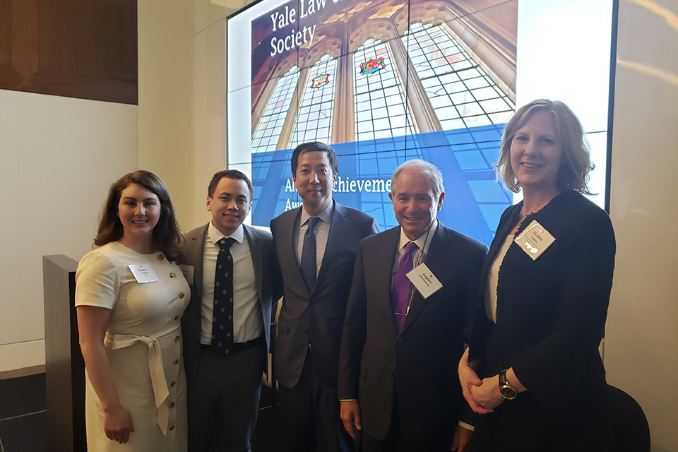 Michael Chae '97 Receives Yale Law & Business Society Alumni Achievement Award