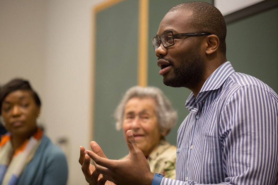 Okafor '15 Contributes to U.S. Holocaust Museum's Project