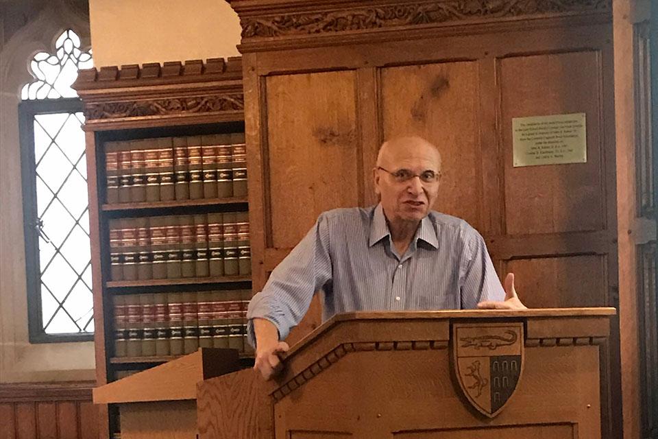 David Luban Rethinks CIA Torture at Human Rights Workshop