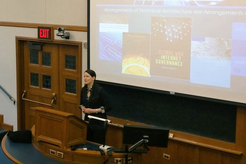 Laura DeNardis Speaks on Internet Governance