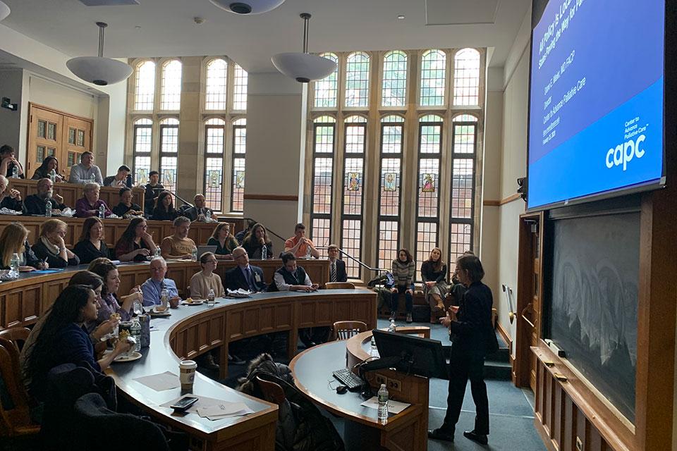 Palliative Care Pioneer Dr. Diane Meier Speaks at YLS
