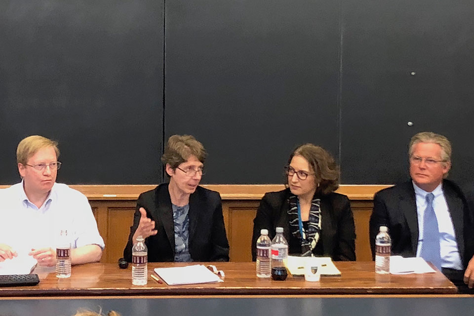 Solomon Center Hosts Panel on Disability and Mental Health Policy