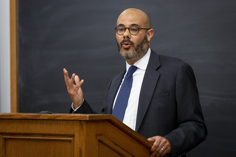 WATCH: Professor Driver Delivers Lecture at the U.S. Supreme Court