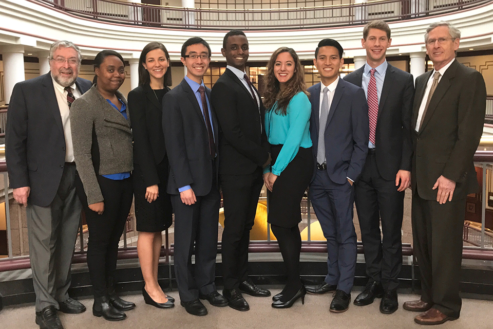 Clinic Students Advocate for Education Adequacy Cost Study