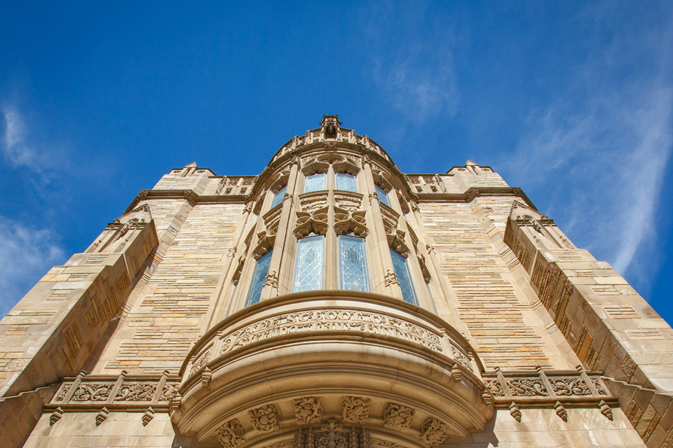 Yale Law School building detail