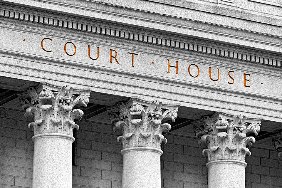 Court House stock photo