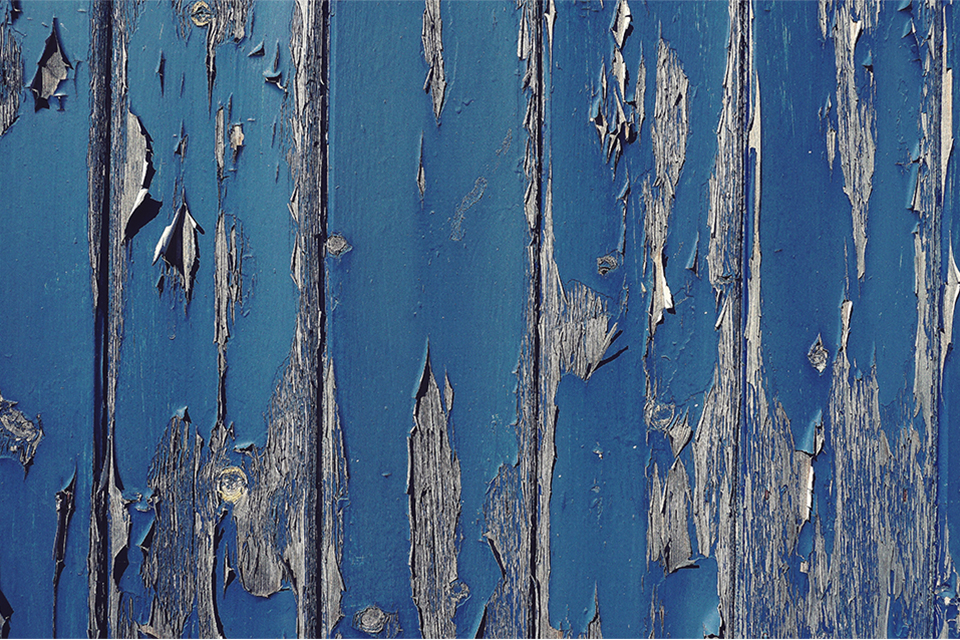 Peeling paint (stock photo)