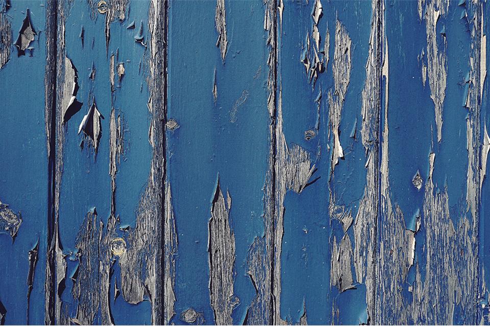 Peeling paint (stock photo)