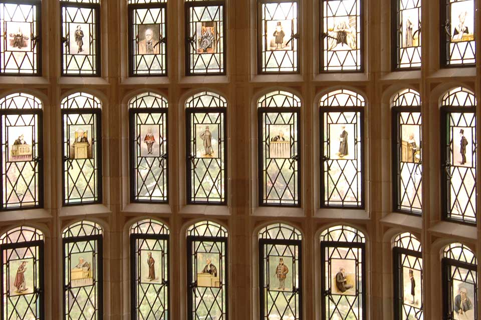 Yale Law School Windows