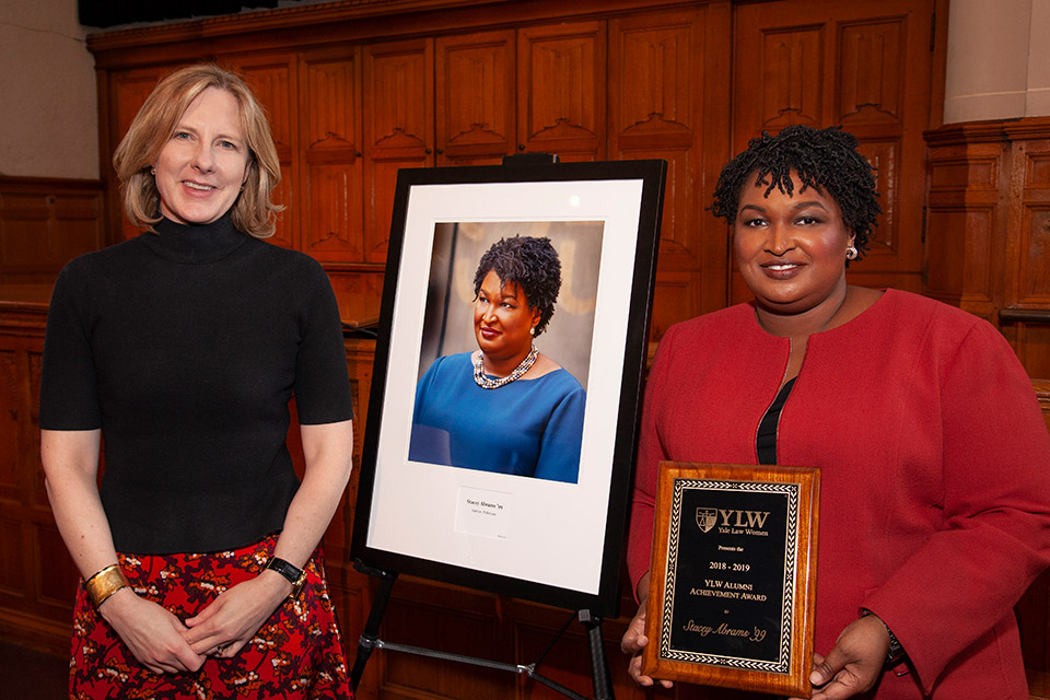 Stacey Abrams '99 Receives Yale Law Women Alumni Achievement Award