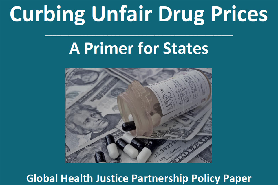 New GHJP Report Examines Curbing Unfair Drug Prices
