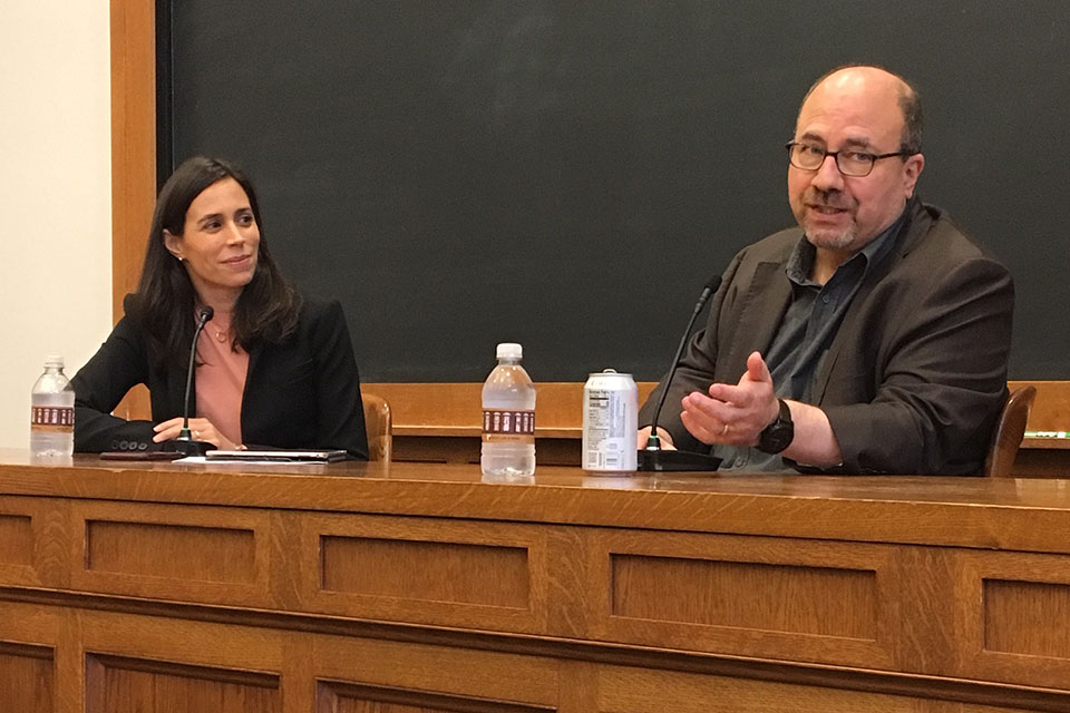 An event at Yale Law School