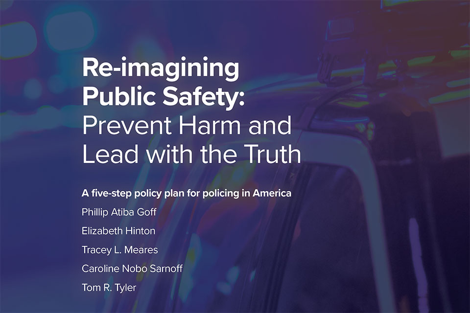 Justice Collaboratory, Center for Policing Equity Release 5-Step Policy Plan