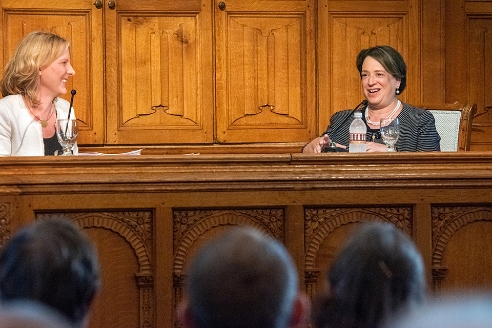 Justice Kagan Delivers 2019 Anderson Lecture