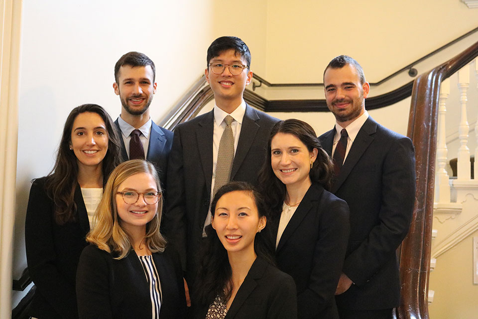 Seven Yale Law Students Named 2019–2020 Kerry Fellows