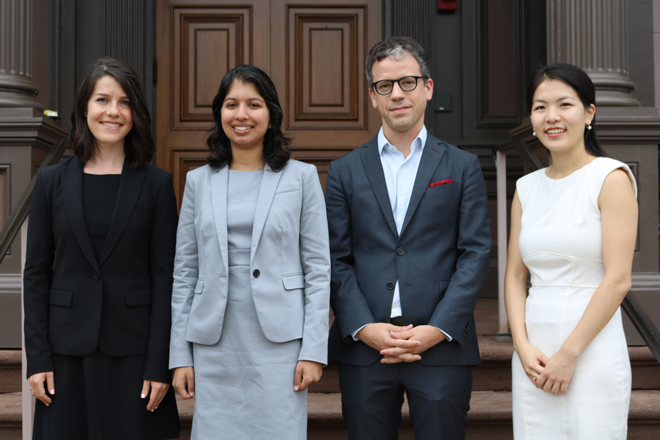 Four Yale Law Students Named as 2018–2019 Kerry Fellows