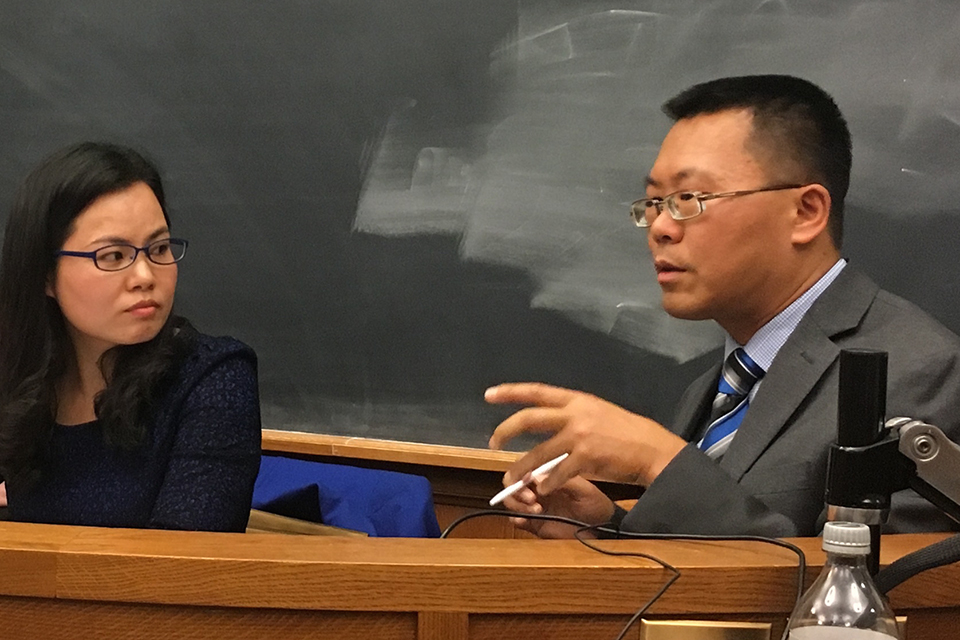 Scholars Return to YLS to Discuss Human Rights Advocacy in China