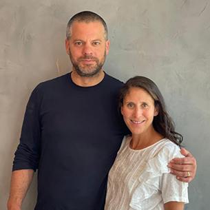 Photo of Jennifer and David Millstone