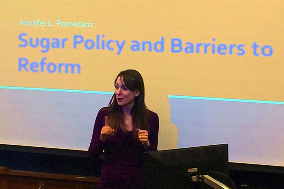 Public Health Professor Discusses Sugar Consumption and Regulation
