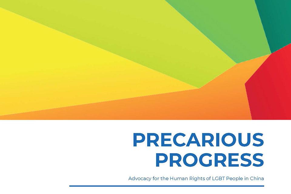 Precarious Progress report cover