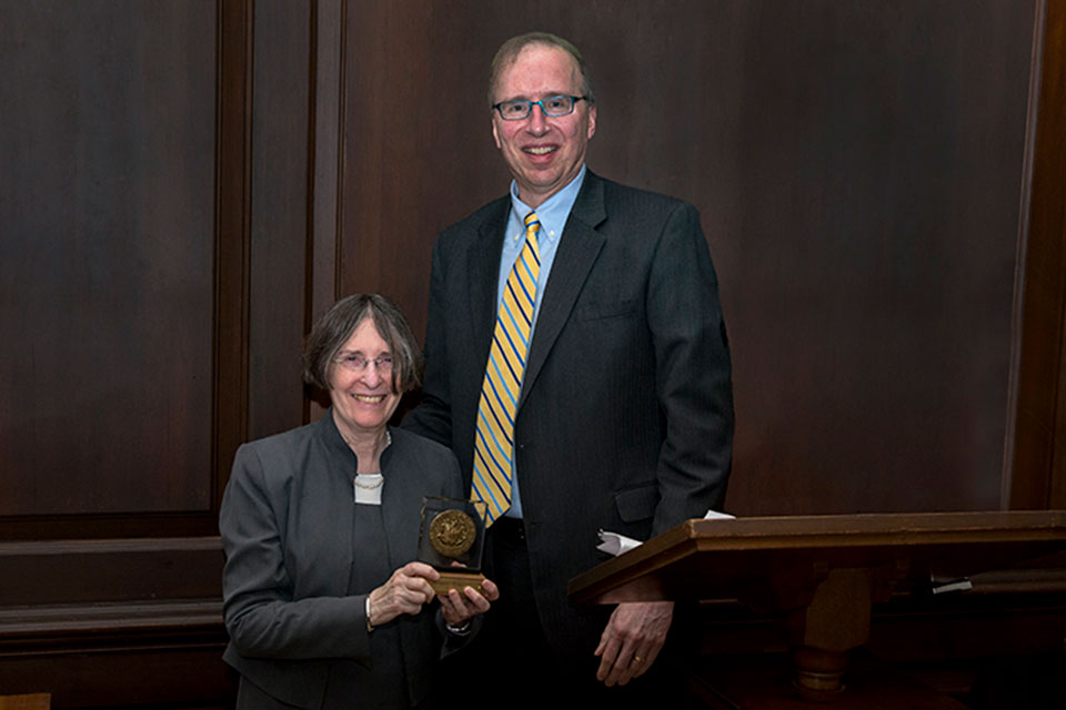 Professor Romano '80 Receives Highest Honor from William & Mary Law School
