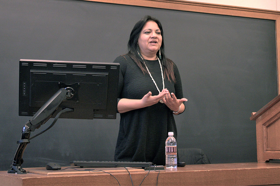 Dr. Rosalee Gonzalez on Indigenous and Climate Issues