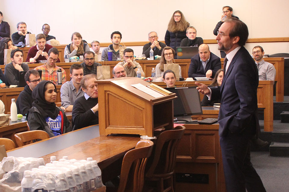 UN High Commissioner for Human Rights Zeid Ra'ad Al Hussein Discusses Defending Human Rights