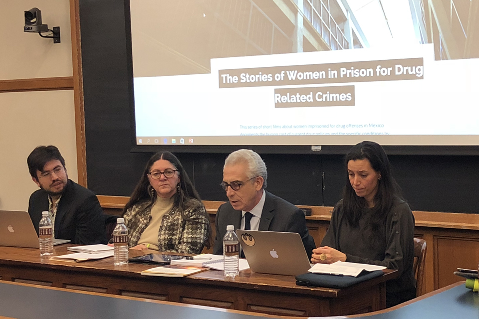 "Panel Discusses ""Addiction to Punishment"" for Drug Offenses in Latin America"