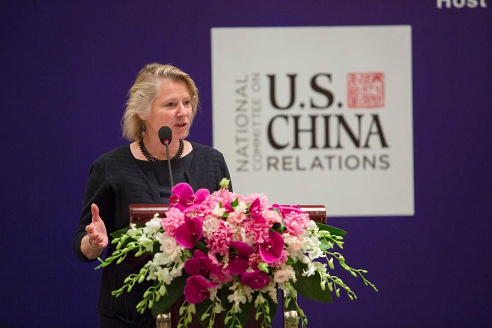 Susan Thornton Delivers Lecture in Shanghai on U.S.-China Relations