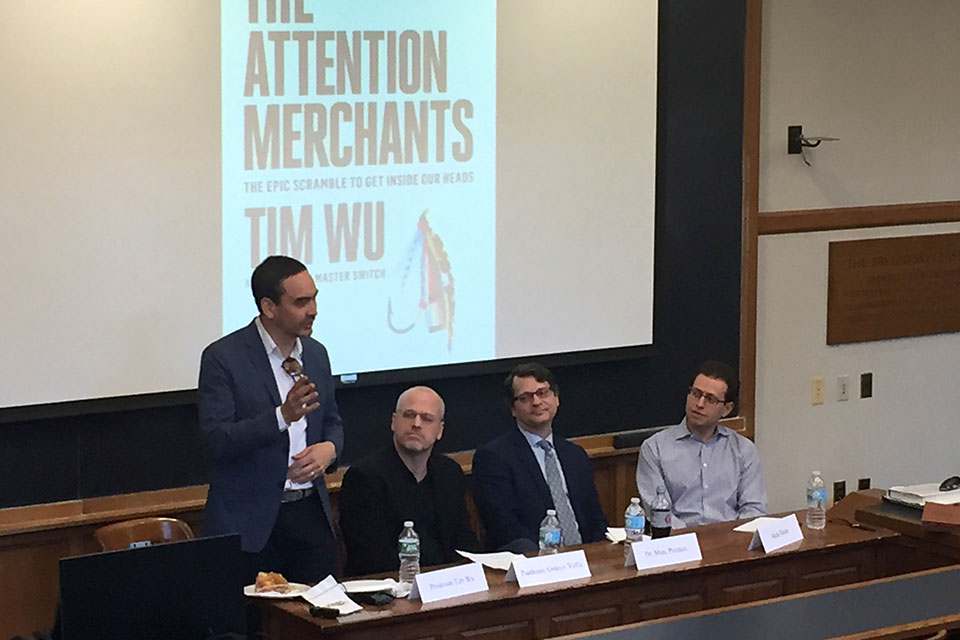 Tim Wu Discussed Book on Attention