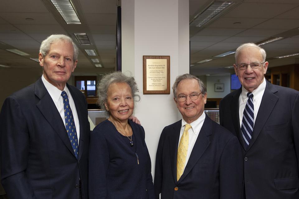 Memories of Fallen Classmate Ken Kelley '66 Inspire Scholarship Giving
